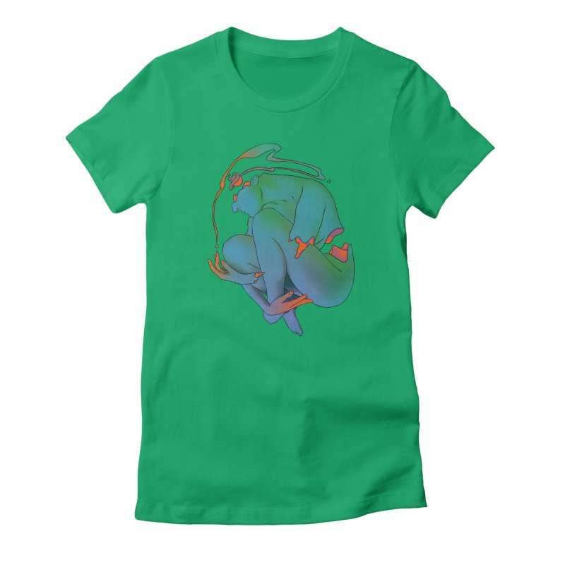1cdfc2d253114a73aaeded2f229274b4 Women's Fitted T-Shirt by toolbar's Artist Shop