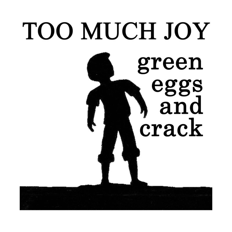Green Eggs and Crack (black) Accessories Notebook by toomuchjoy's Artist Shop