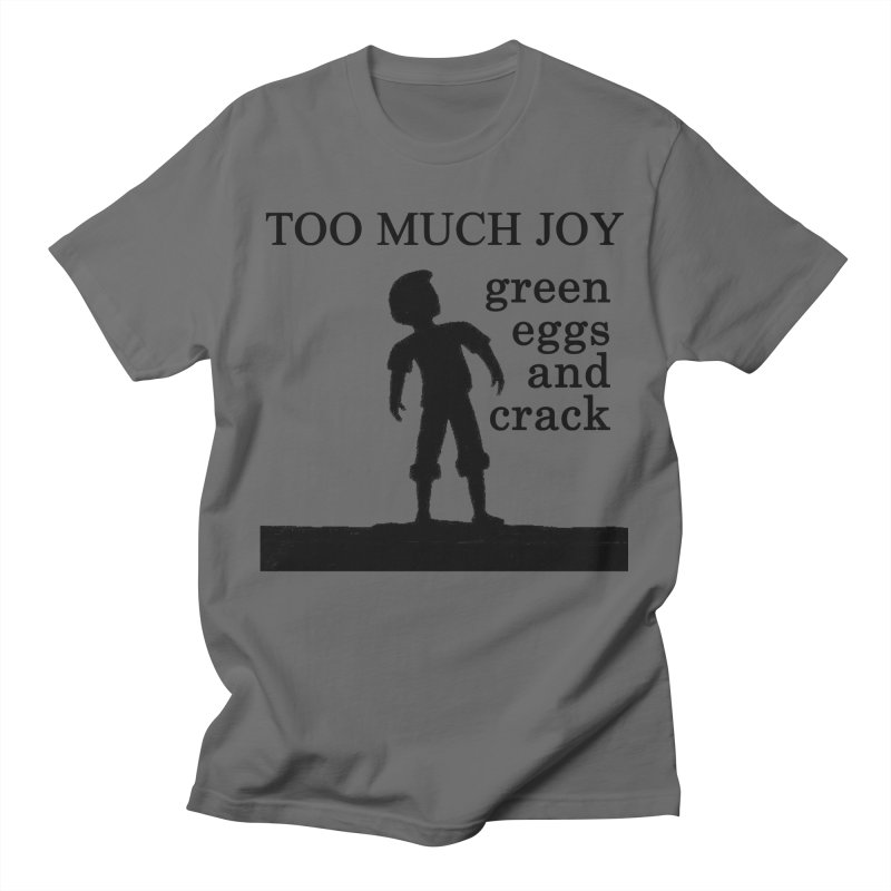 Green Eggs and Crack (black) Men's T-Shirt by toomuchjoy's Artist Shop