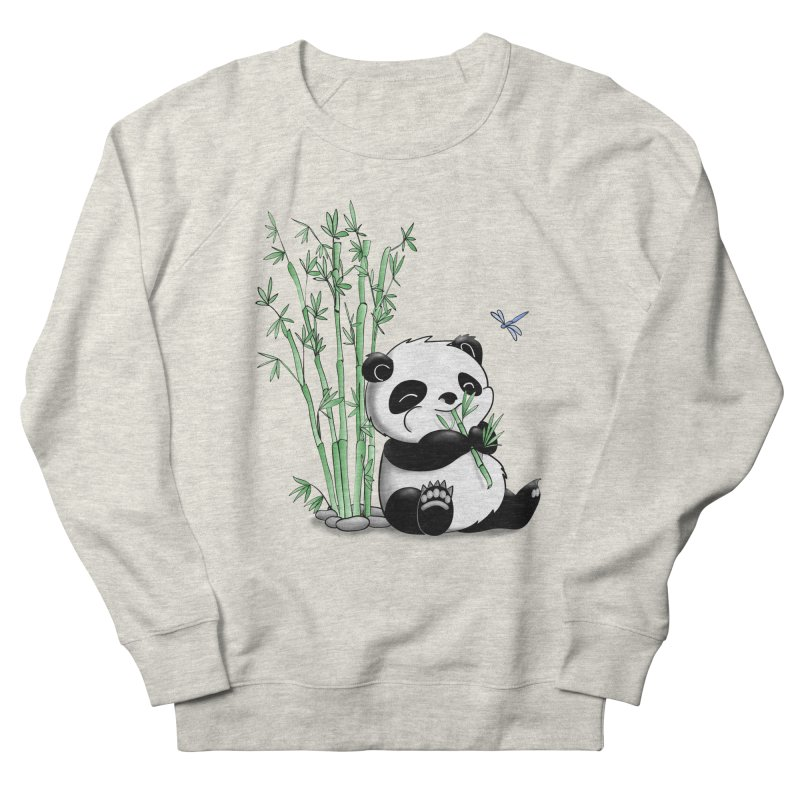 Panda Eating Bamboo Women's Sweatshirt by Tootsiecool's Artist Shop