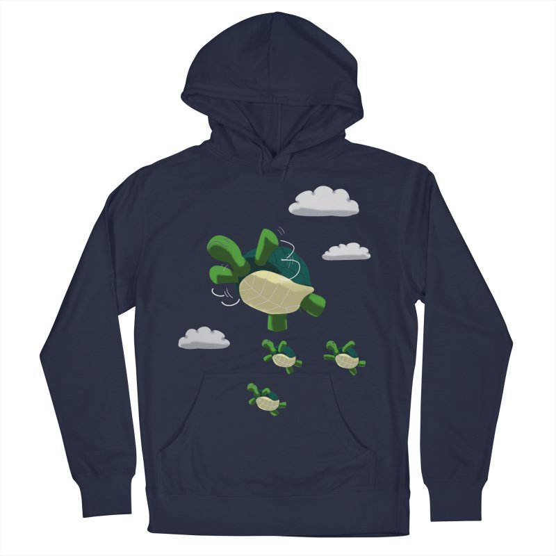 Flying Turtles Women's Pullover Hoody by Tootsiecool's Artist Shop