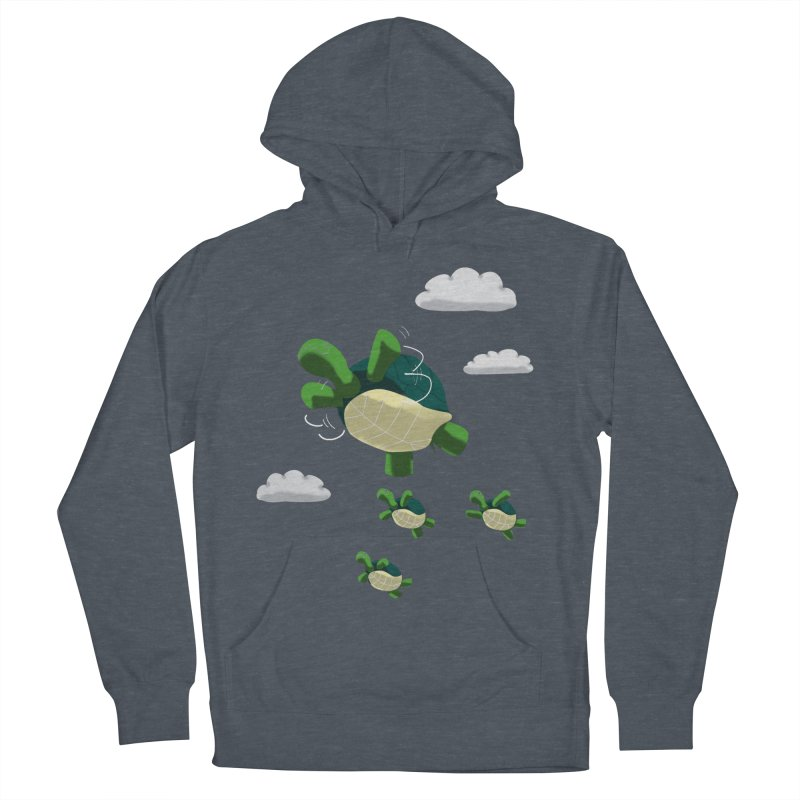 Flying Turtles Men's Pullover Hoody by Tootsiecool's Artist Shop