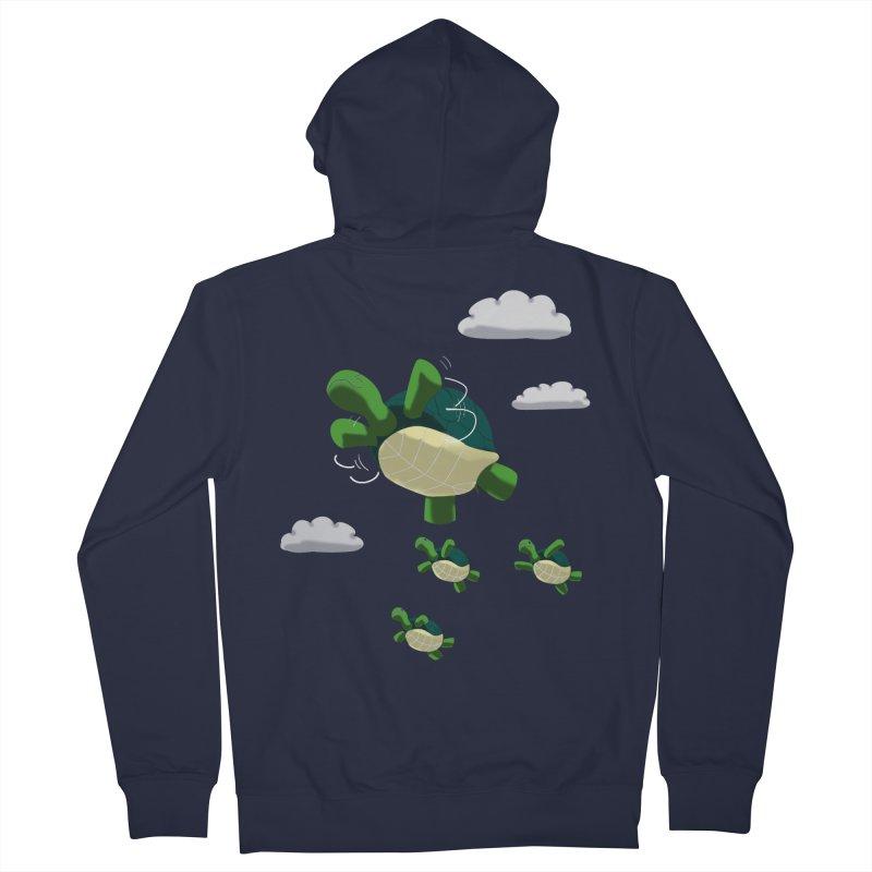 Flying Turtles Women's Zip-Up Hoody by Tootsiecool's Artist Shop