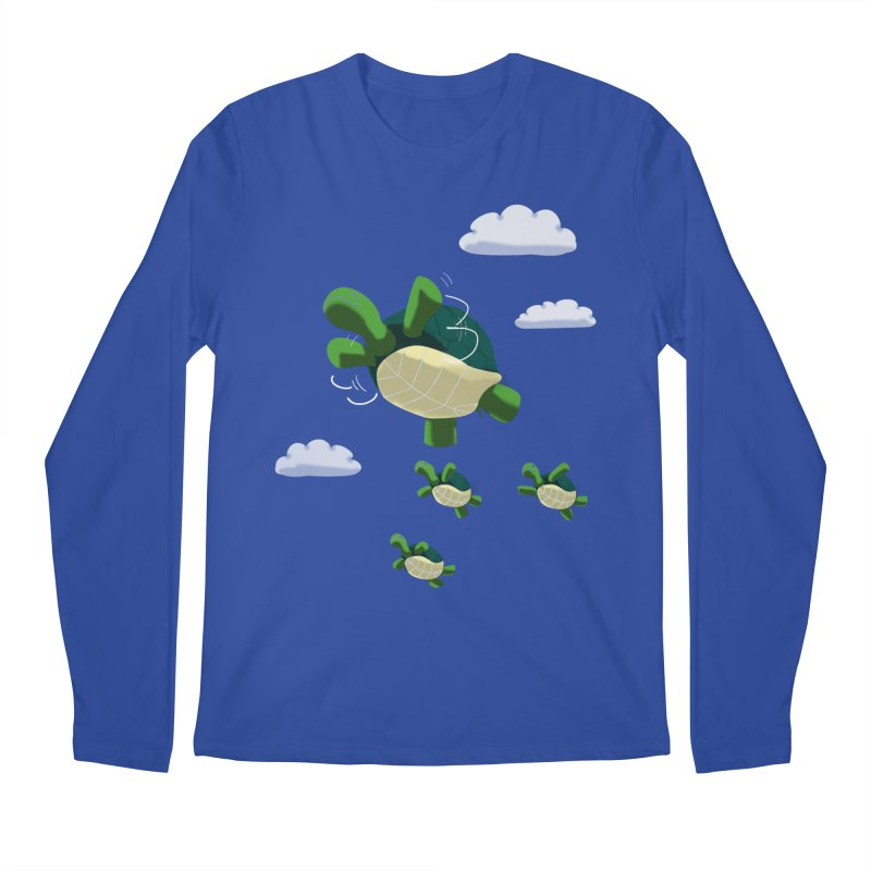 Flying Turtles Men's Longsleeve T-Shirt by Tootsiecool's Artist Shop