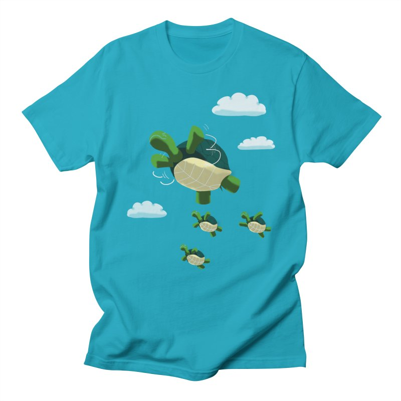 Flying Turtles Men's T-shirt by Tootsiecool's Artist Shop