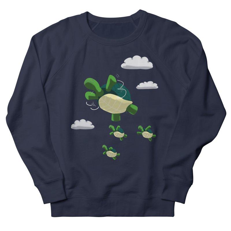 Flying Turtles Men's Sweatshirt by Tootsiecool's Artist Shop