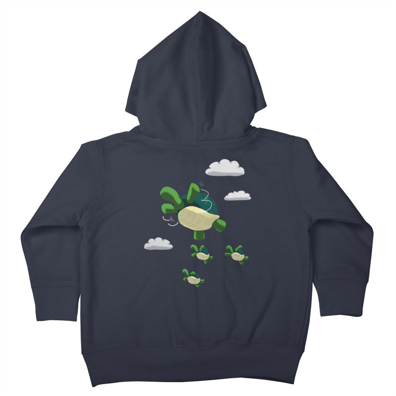 Flying Turtles Kids Toddler Zip-Up Hoody by Tootsiecool's Artist Shop