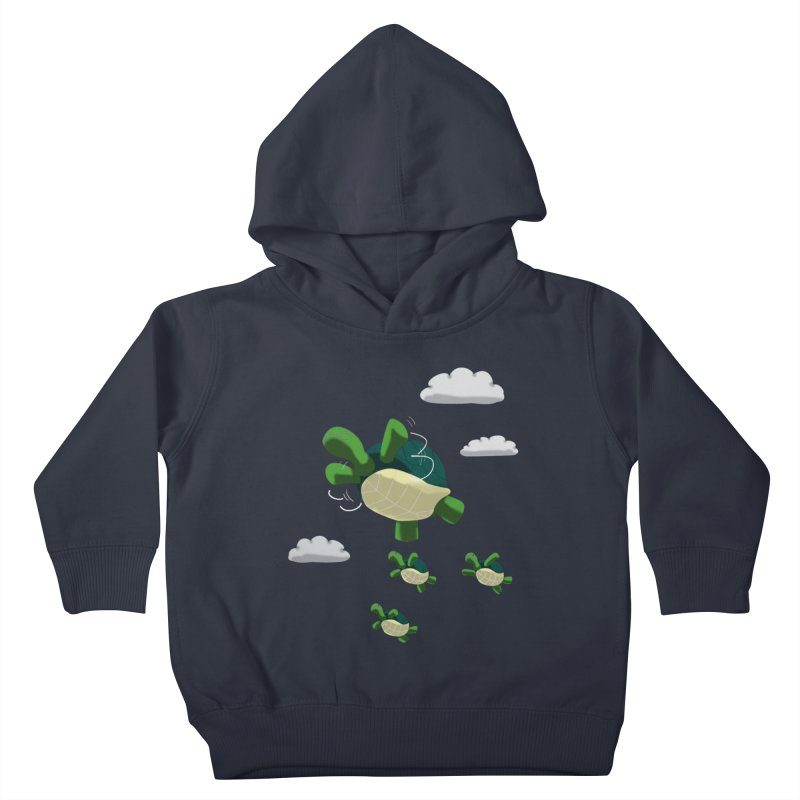 Flying Turtles Kids Toddler Pullover Hoody by Tootsiecool's Artist Shop