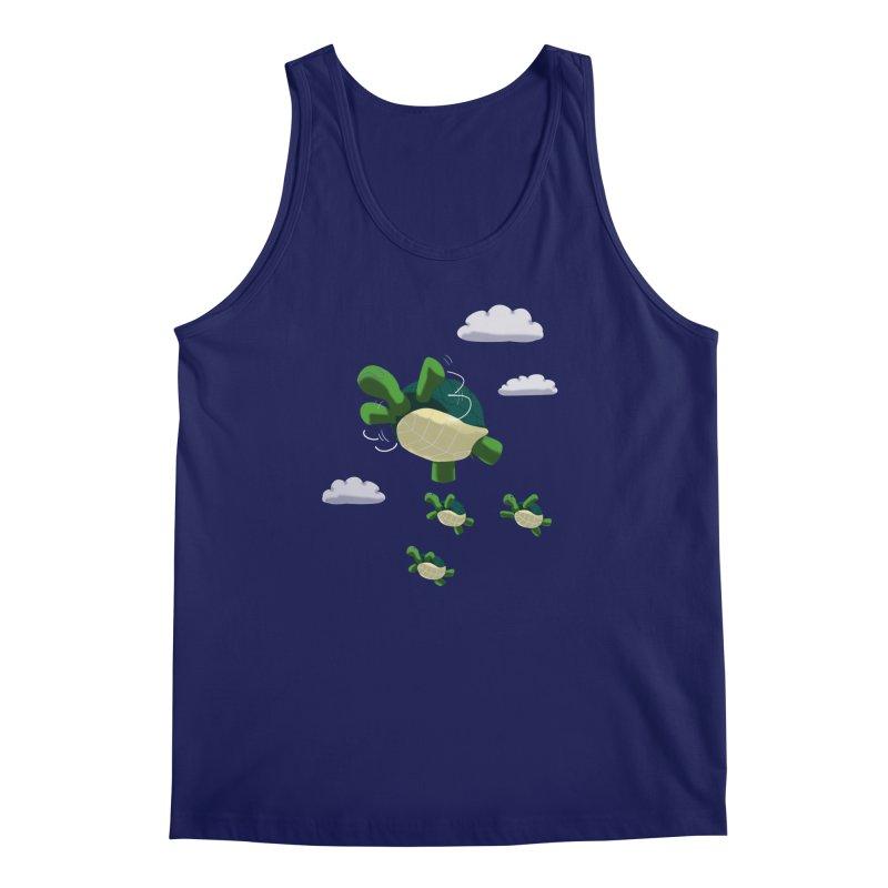Flying Turtles Men's Tank by Tootsiecool's Artist Shop
