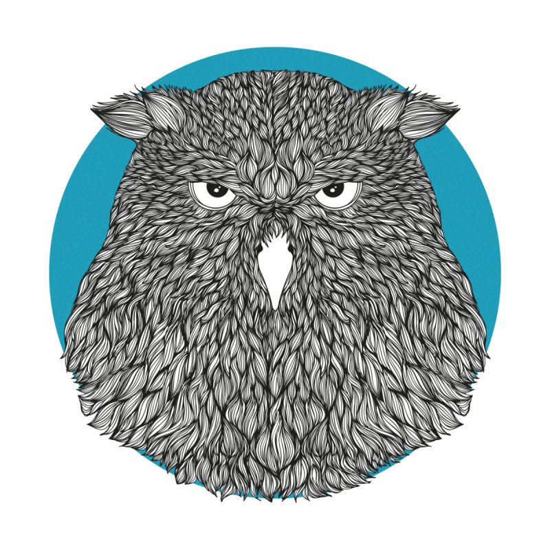 Owl Kids T-Shirt by topodos's Artist Shop