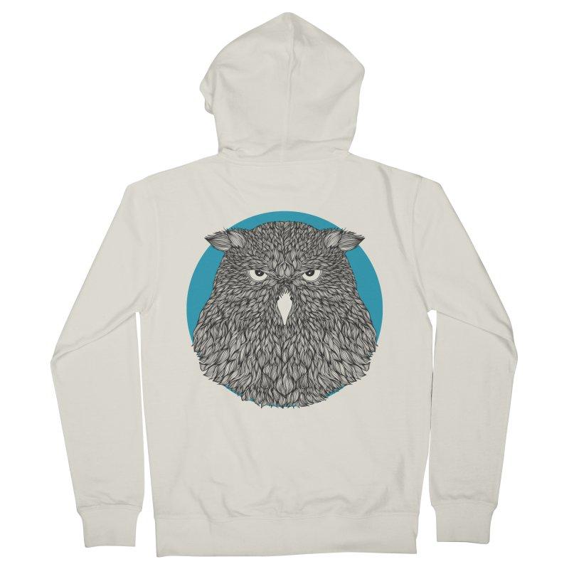 Owl Women's Zip-Up Hoody by topodos's Artist Shop