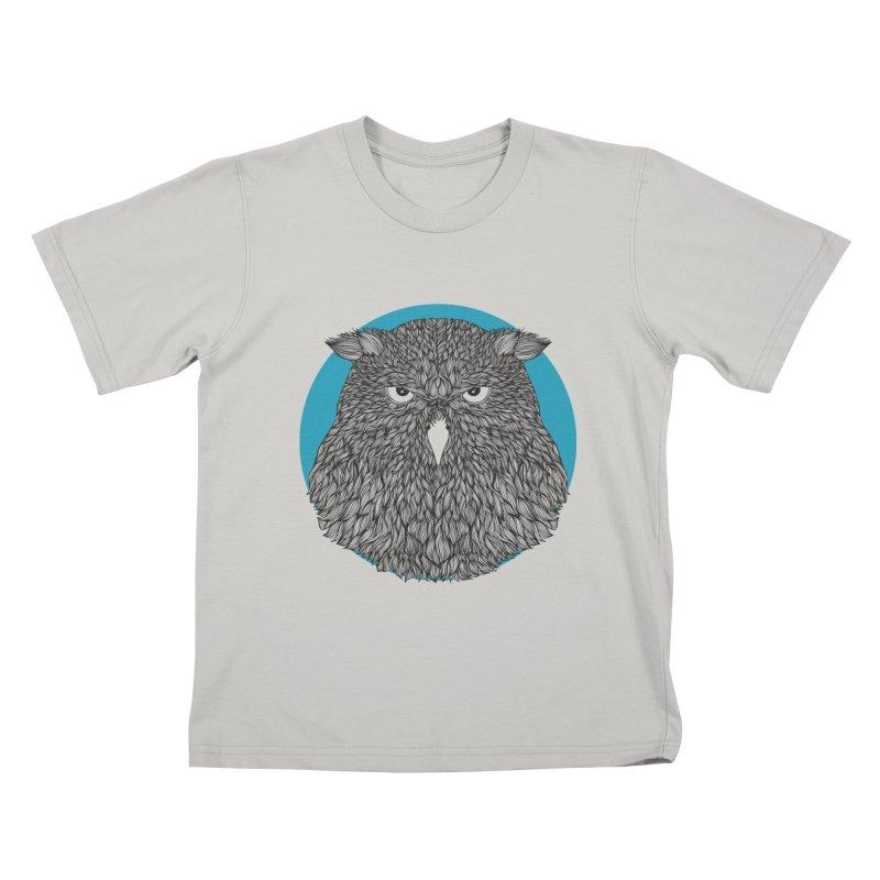 Owl Kids T-shirt by topodos's Artist Shop