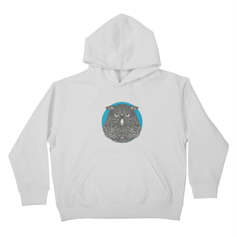 Owl Kids Pullover Hoody by topodos's Artist Shop