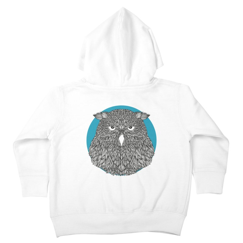 Owl Kids Toddler Zip-Up Hoody by topodos's Artist Shop