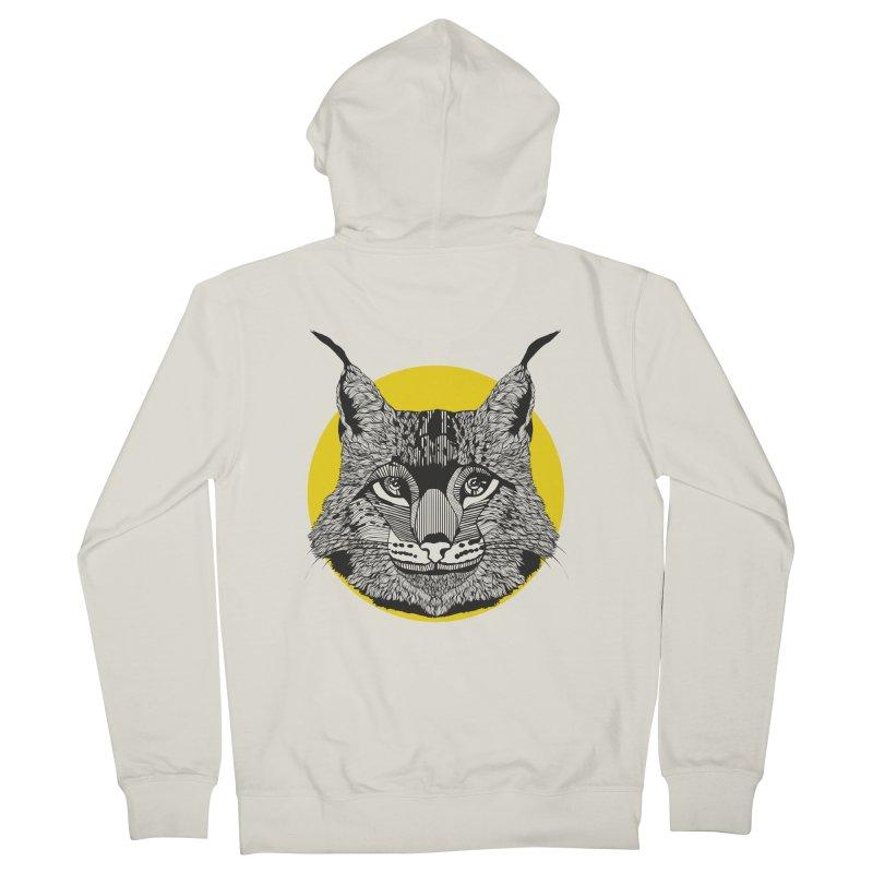 Lynx Men's Zip-Up Hoody by topodos's Artist Shop