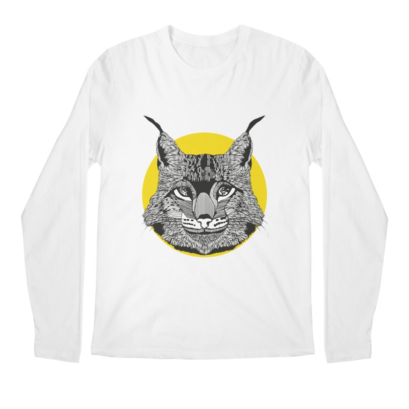 Lynx Men's Longsleeve T-Shirt by topodos's Artist Shop