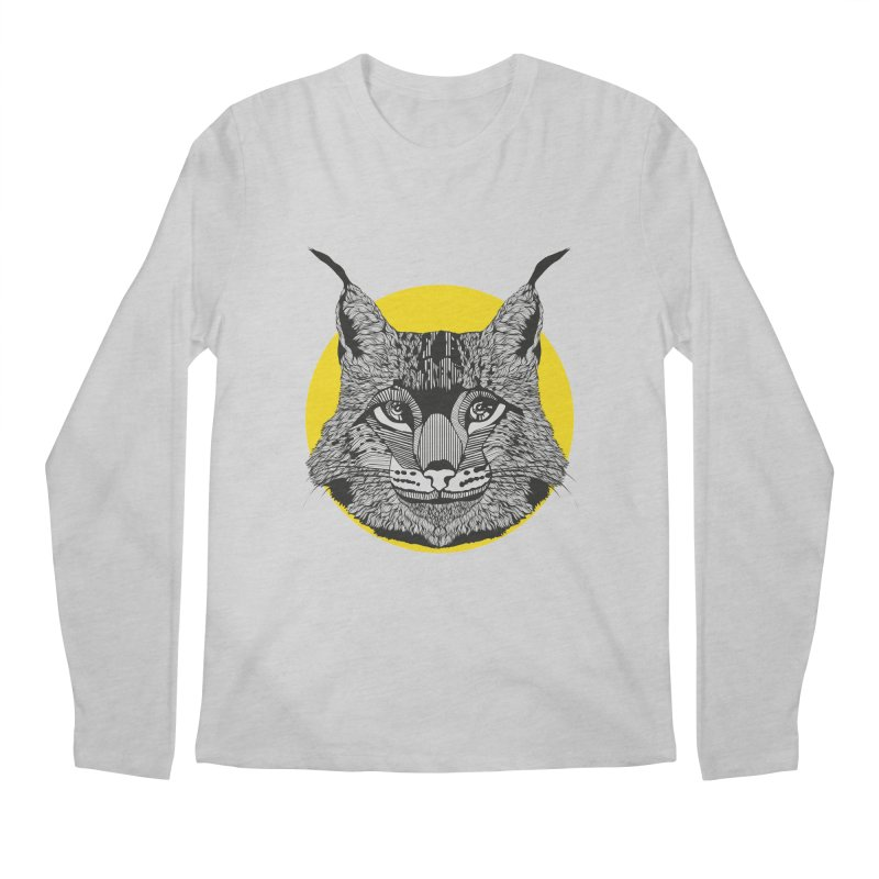 Lynx Men's Longsleeve T-Shirt by topodos's Artist Shop