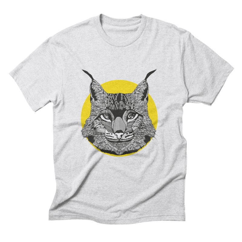 Lynx Men's Triblend T-shirt by topodos's Artist Shop