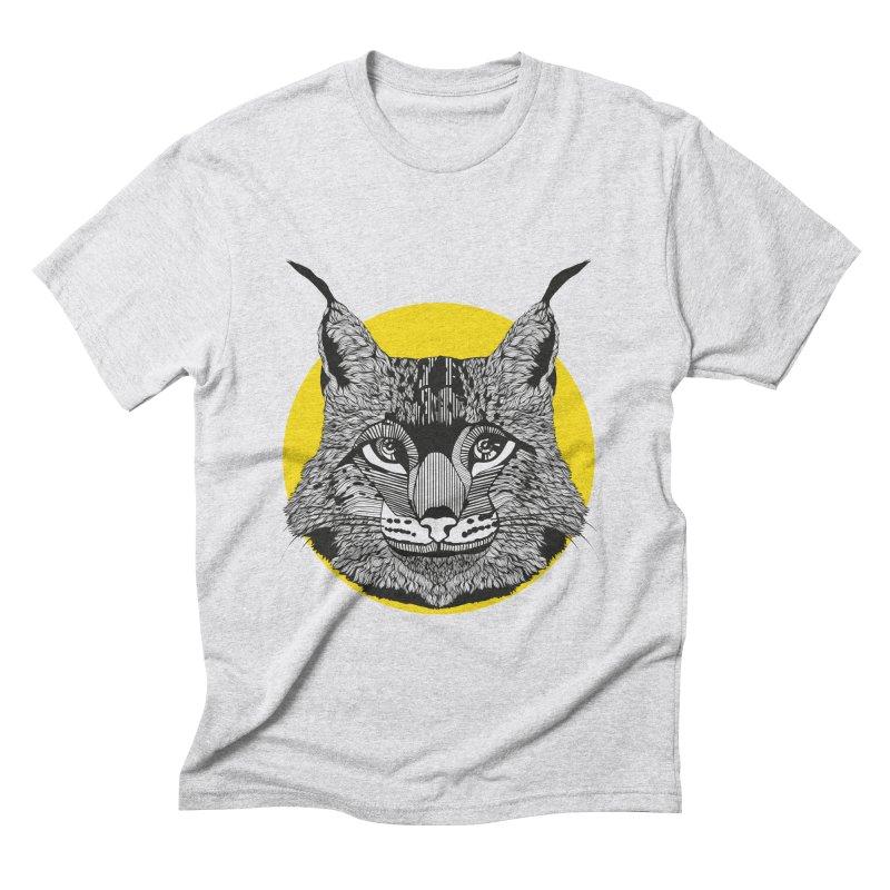 Lynx Men's Triblend T-shirt by topodos's Artist Shop