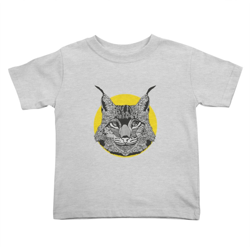 Lynx Kids Toddler T-Shirt by topodos's Artist Shop