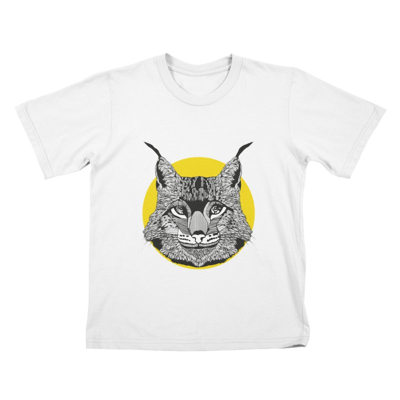 Lynx Kids T-Shirt by topodos's Artist Shop