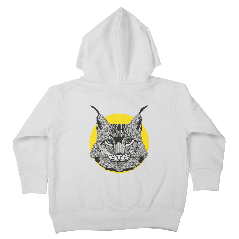 Lynx Kids Toddler Zip-Up Hoody by topodos's Artist Shop