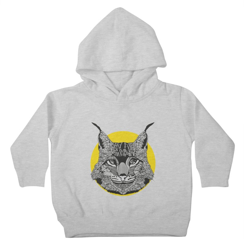 Lynx Kids Toddler Pullover Hoody by topodos's Artist Shop