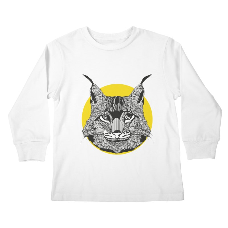Lynx Kids Longsleeve T-Shirt by topodos's Artist Shop