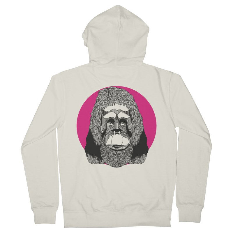 Orangutan Women's Zip-Up Hoody by topodos's Artist Shop