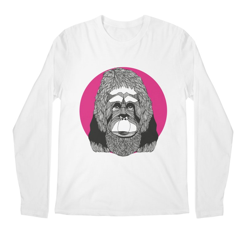 Orangutan Men's Longsleeve T-Shirt by topodos's Artist Shop