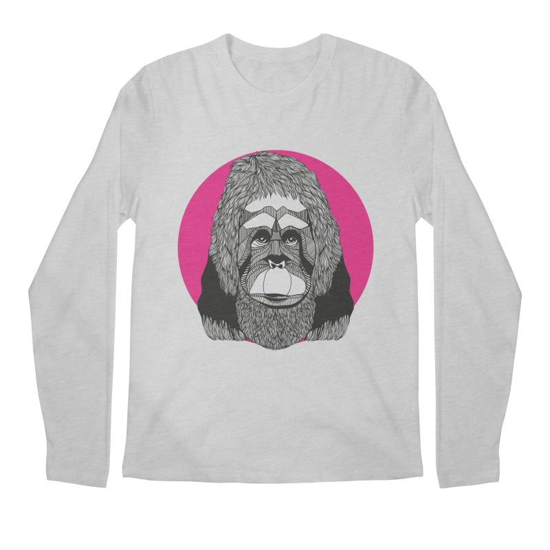Orangutan Men's Longsleeve T-Shirt by topodos's Artist Shop