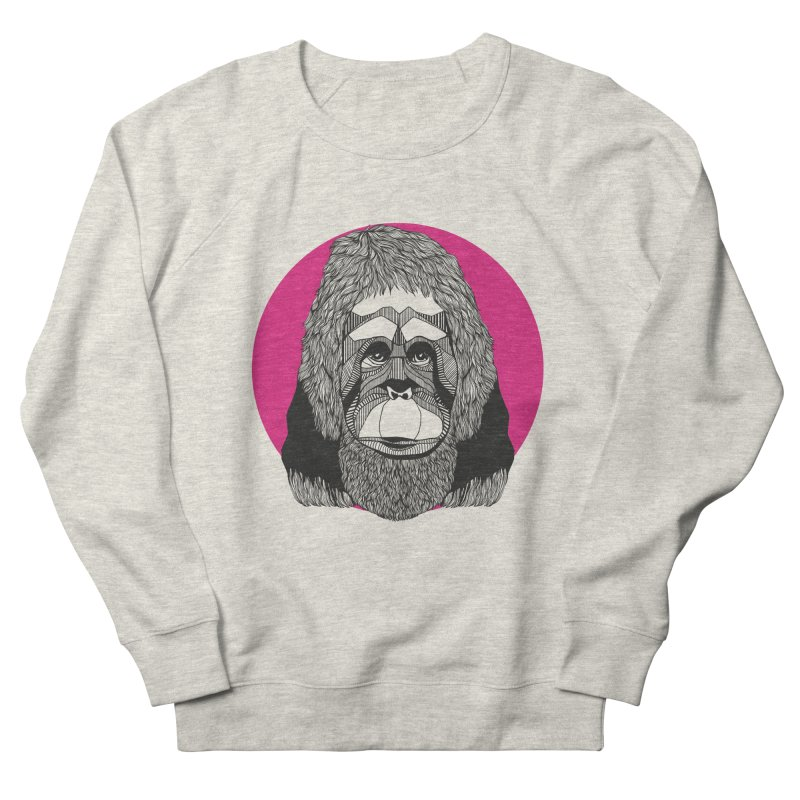 Orangutan Men's Sweatshirt by topodos's Artist Shop