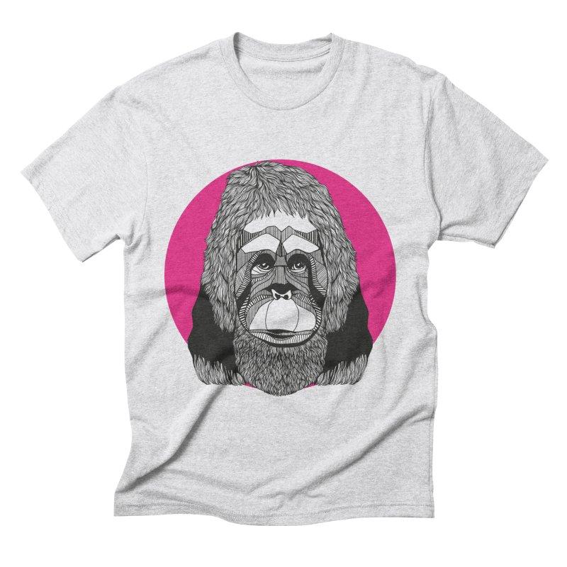 Orangutan Men's Triblend T-shirt by topodos's Artist Shop