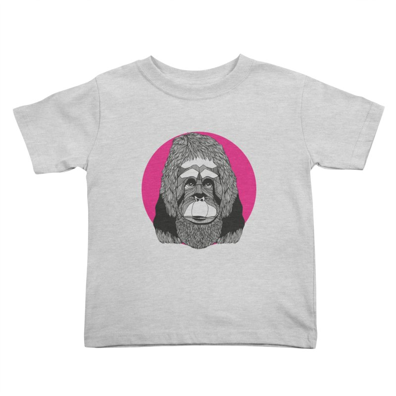 Orangutan Kids Toddler T-Shirt by topodos's Artist Shop