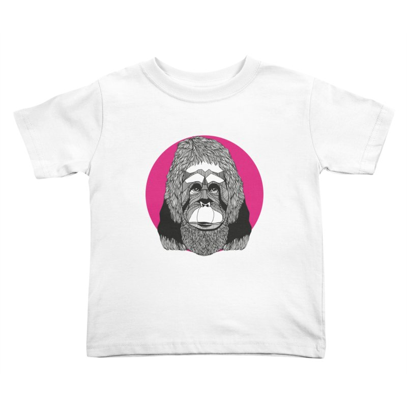 Orangutan Kids Toddler T-Shirt by topodos's Artist Shop