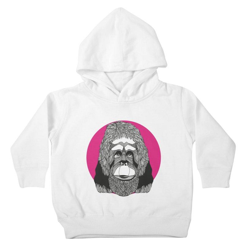 Orangutan Kids Toddler Pullover Hoody by topodos's Artist Shop