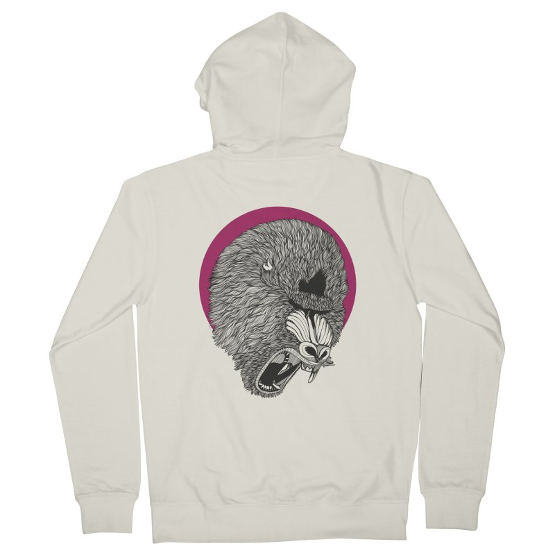 Mandrill Women's Zip-Up Hoody by topodos's Artist Shop