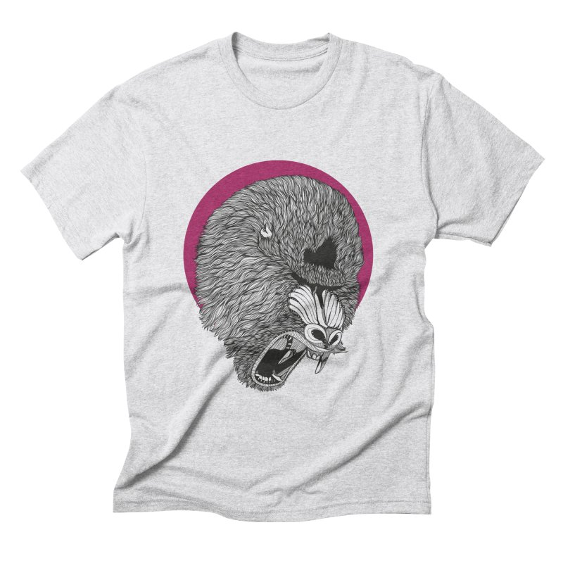 Mandrill Men's Triblend T-shirt by topodos's Artist Shop