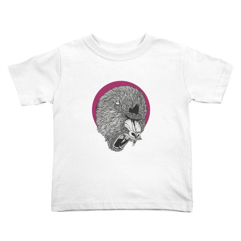 Mandrill Kids Toddler T-Shirt by topodos's Artist Shop
