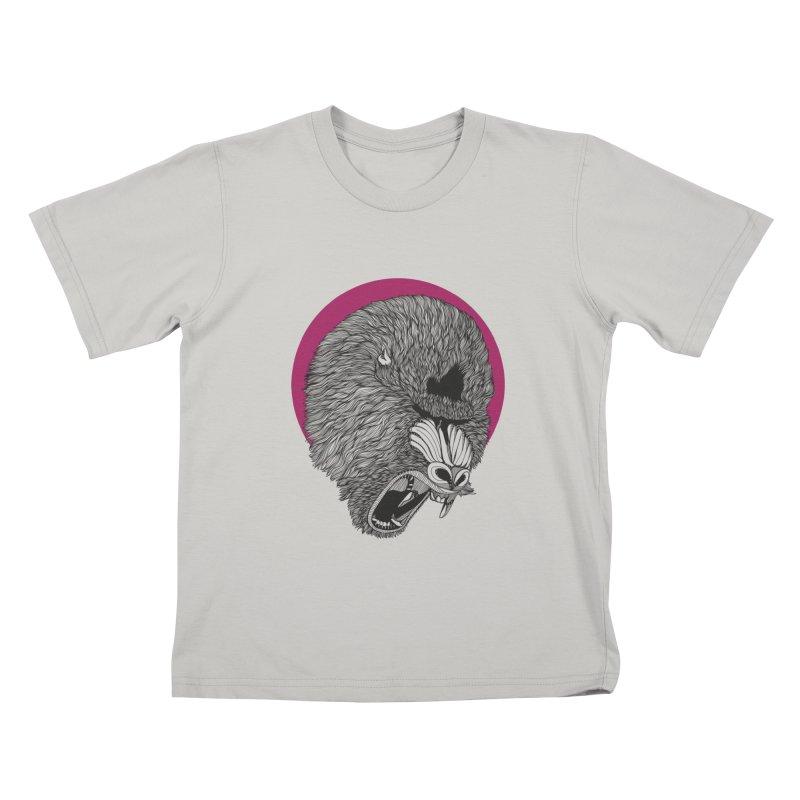 Mandrill Kids T-Shirt by topodos's Artist Shop