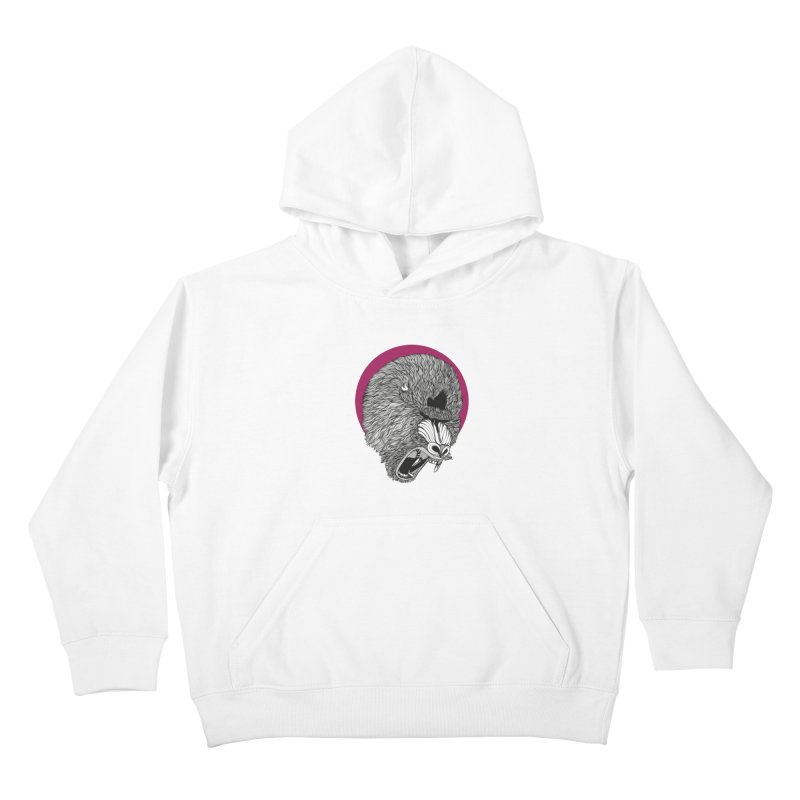 Mandrill Kids Pullover Hoody by topodos's Artist Shop