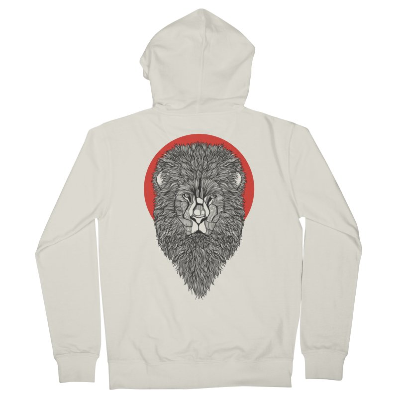 Lion Women's Zip-Up Hoody by topodos's Artist Shop