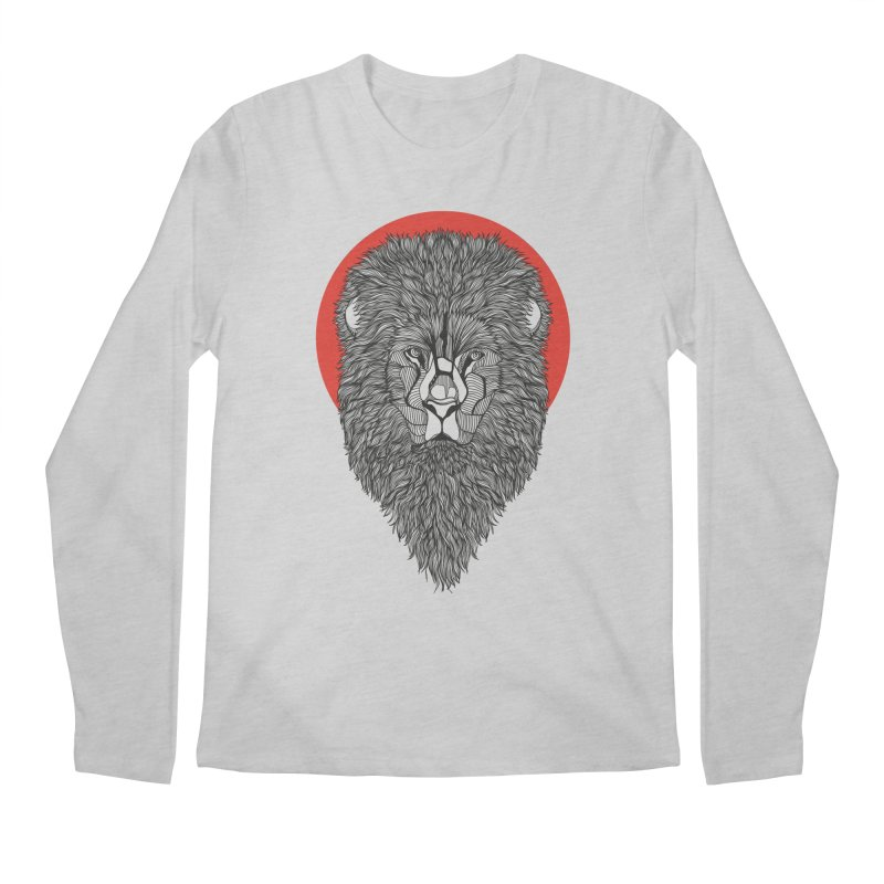 Lion Men's Longsleeve T-Shirt by topodos's Artist Shop
