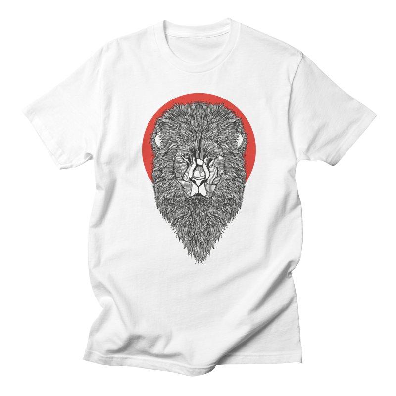 Lion Men's T-Shirt by topodos's Artist Shop