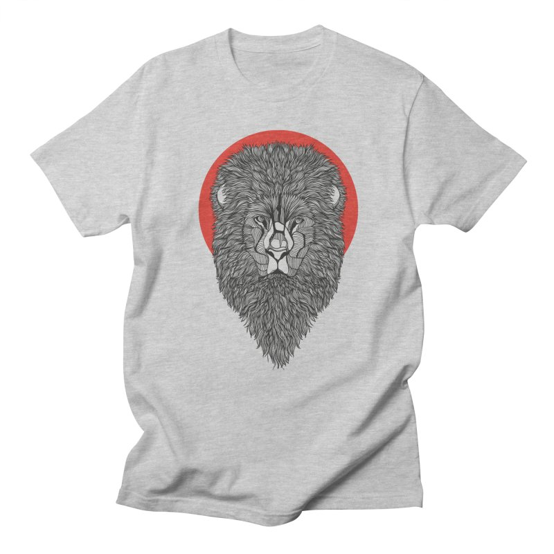 Lion Men's T-shirt by topodos's Artist Shop