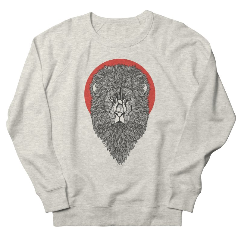 Lion Women's Sweatshirt by topodos's Artist Shop