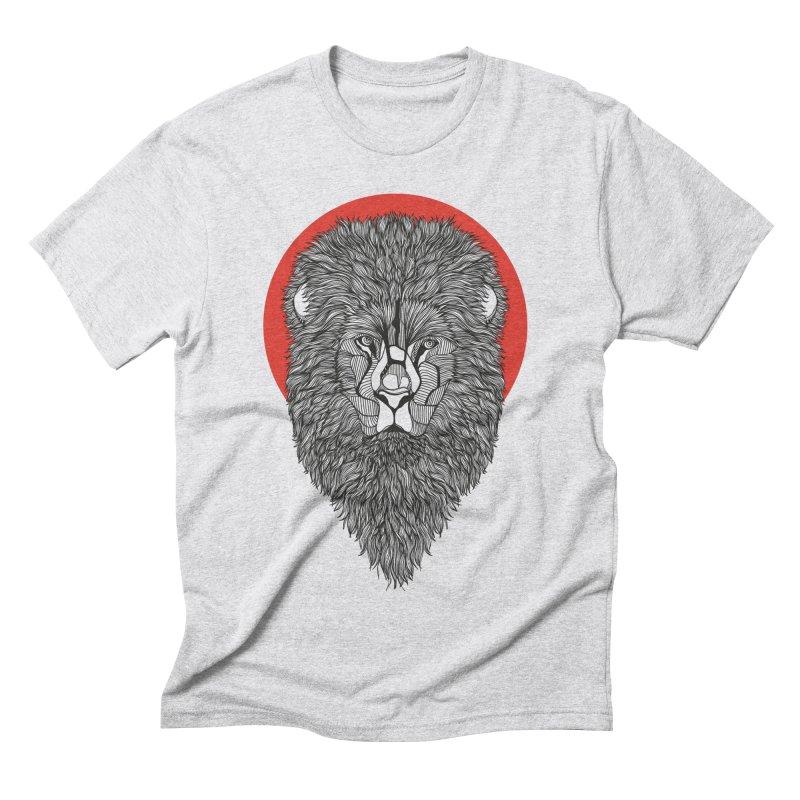 Lion Men's Triblend T-shirt by topodos's Artist Shop
