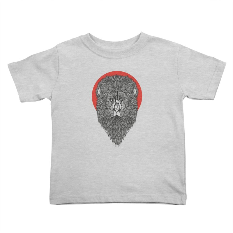 Lion Kids Toddler T-Shirt by topodos's Artist Shop