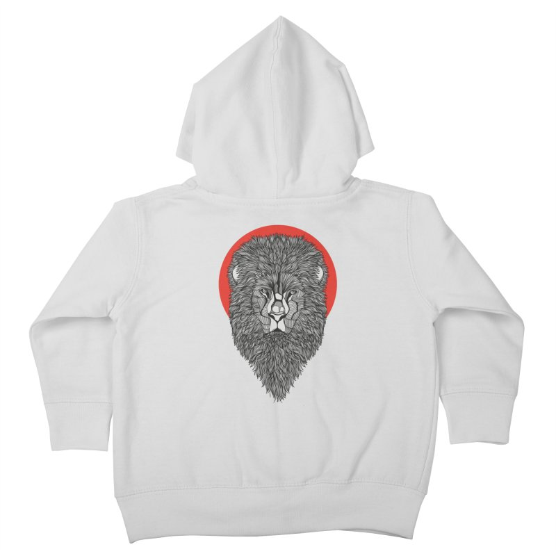 Lion Kids Toddler Zip-Up Hoody by topodos's Artist Shop