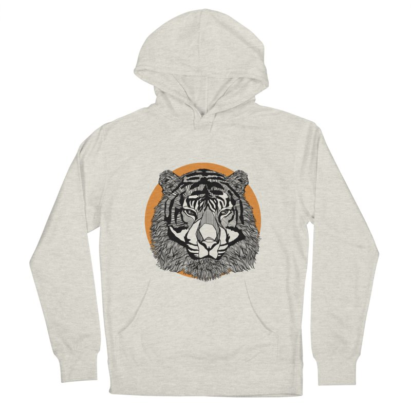 Tiger Women's Pullover Hoody by topodos's Artist Shop